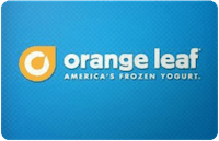 Orange Leaf gift card