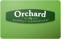 Orchard Supply gift card