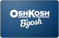 Osh Kosh Bgosh gift card