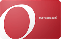 Overstock gift card