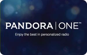 Pandora Radio 6-Month Subscription gift card