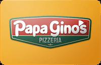 Papa Gino's gift card