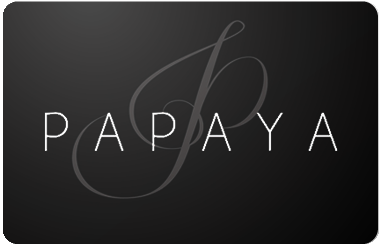 Papaya gift card