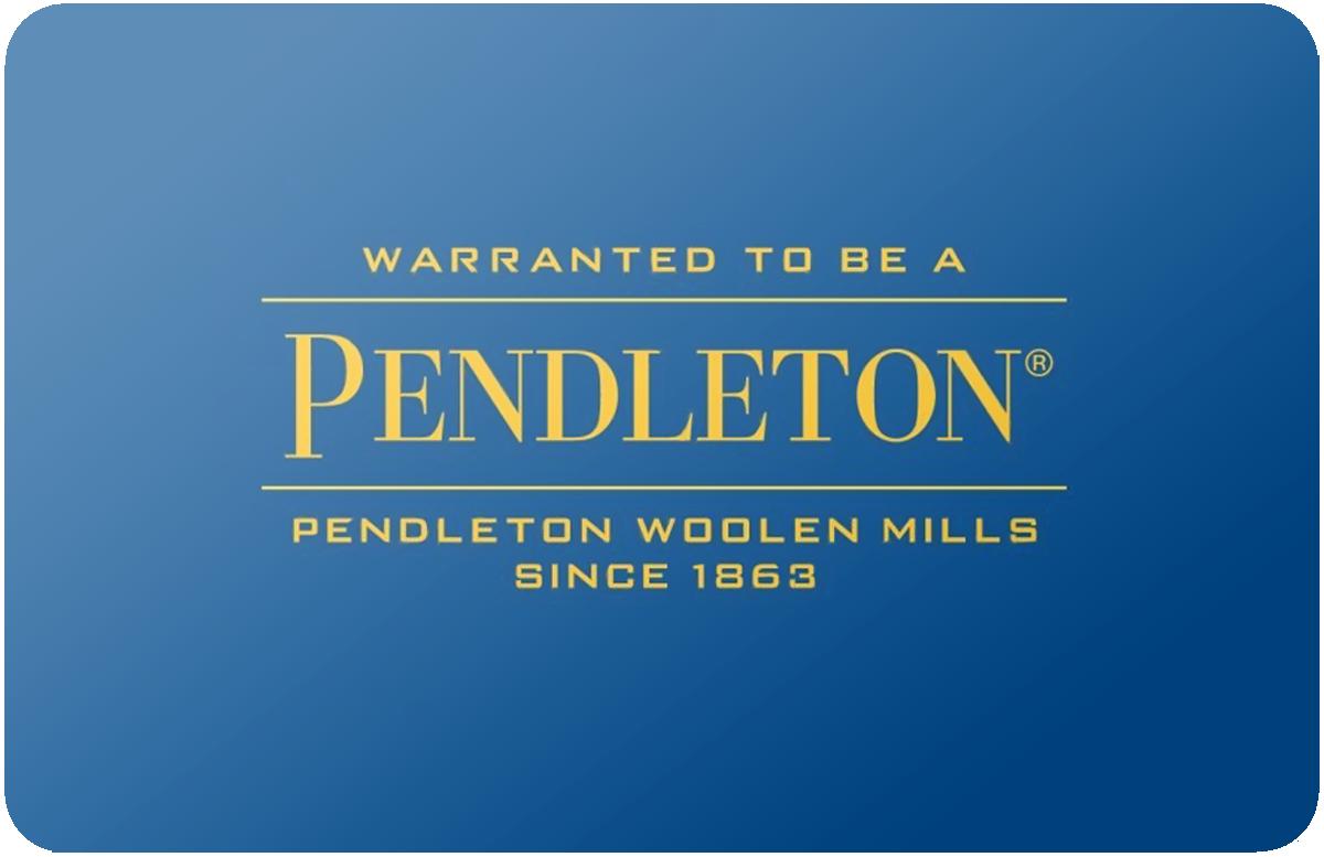 Pendleton gift card