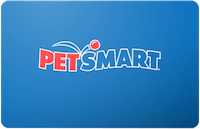 Petsmart Online Only gift card