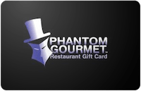 Phantom Gourmet gift card