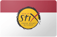 Pick-Up Stix gift card