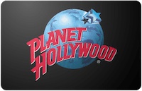Planet Hollywood gift card