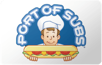 Port of Subs gift card