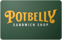 Potbelly gift card