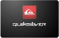 Quiksilver gift card