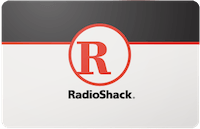 Radio Shack  gift card