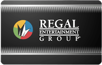 Regal Entertainment In Theatre Only gift card