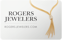 Rogers Jewelers gift card
