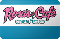 Rosas Cafe gift card