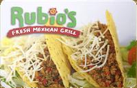 Rubios gift card