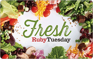 Ruby Tuesday gift card
