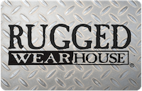 Rugged Wearhouse gift card