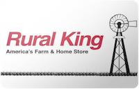 Rural King gift card