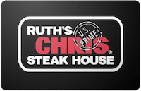 Ruths Chris gift card
