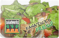Salad Works gift card