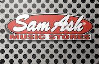Sam Ash gift card