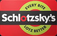 Schlotzsky's gift card
