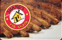 Shanes Rib Shack gift card