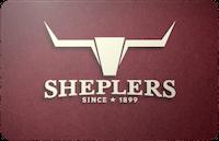 Sheplers gift card