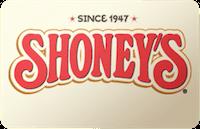 Shoneys gift card