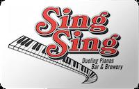 Sing Sing gift card