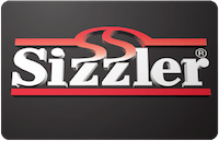 Sizzler gift card