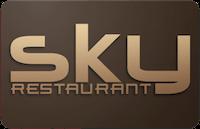 Sky Restaurant gift card