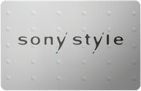 Sony Style gift card