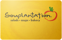 Souplantation gift card