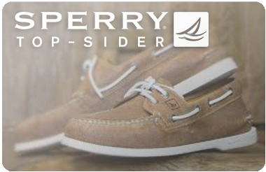 Sperry Top Sider gift card