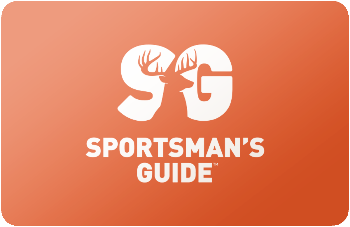 Sportsman's Guide gift card