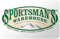 Sportman's Warehouse gift card