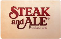 Steak & Ale gift card