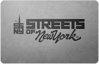 Streets of NY gift card