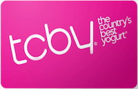 TCBY gift card