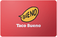 Taco Bueno gift card