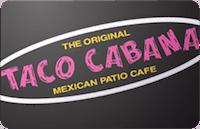 Taco Cabana gift card