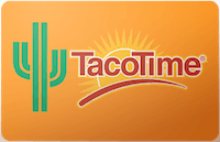 Taco Time gift card