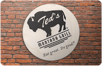 Teds Montana gift card