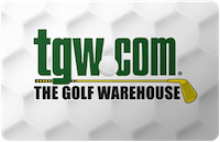 The Golf Warehouse gift card