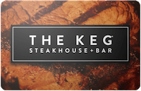 The Keg Steakhouse gift card