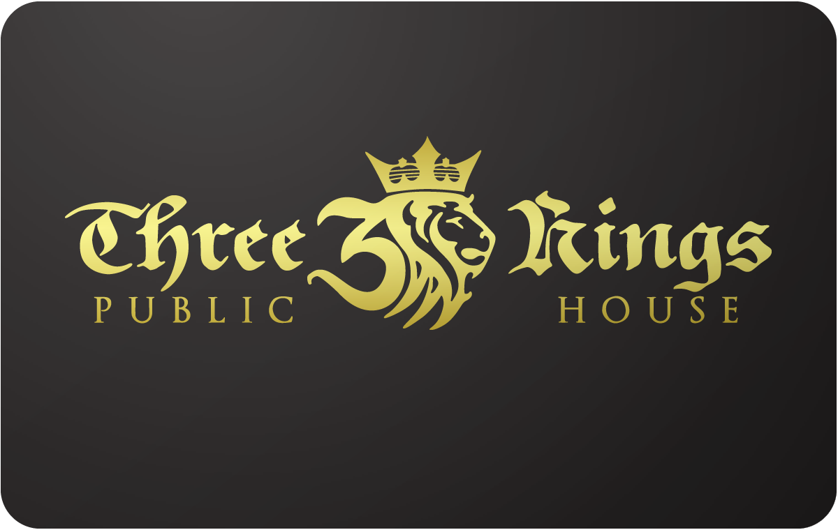 Three Kings Public House gift card
