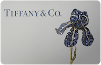 Tiffany & Co gift card