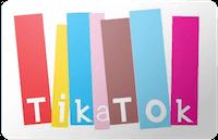 Tikatok gift card
